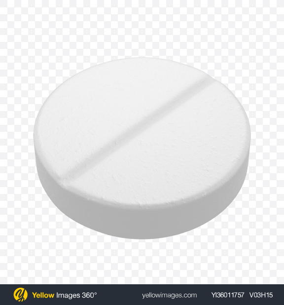 Download White Round Pill Transparent PNG on YELLOW Images