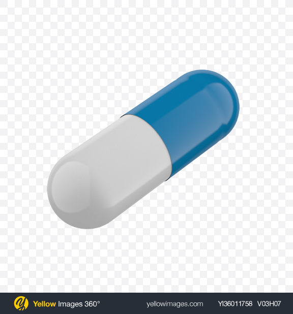 Download Blue and White Pill Transparent PNG on YELLOW Images