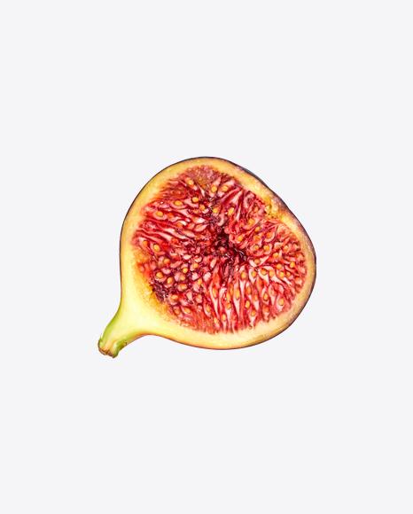 Half of Fig Fruit
