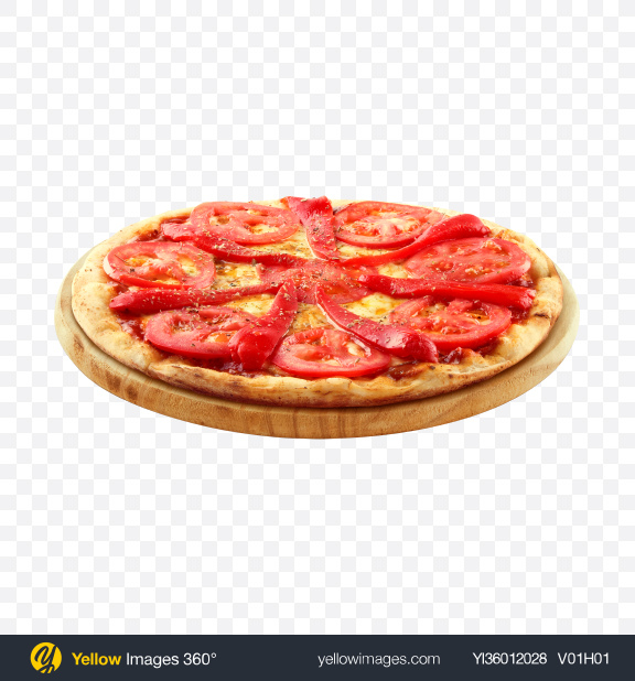 Download Margarita Pizza Transparent PNG on YELLOW Images