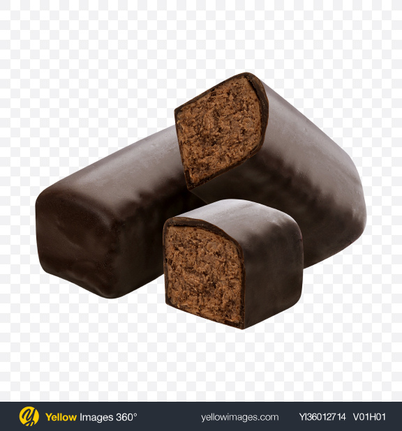 Download Chocolate Bar w/ Slices Transparent PNG on YELLOW Images