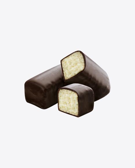 Chocolate Bar with Vanilla Filling