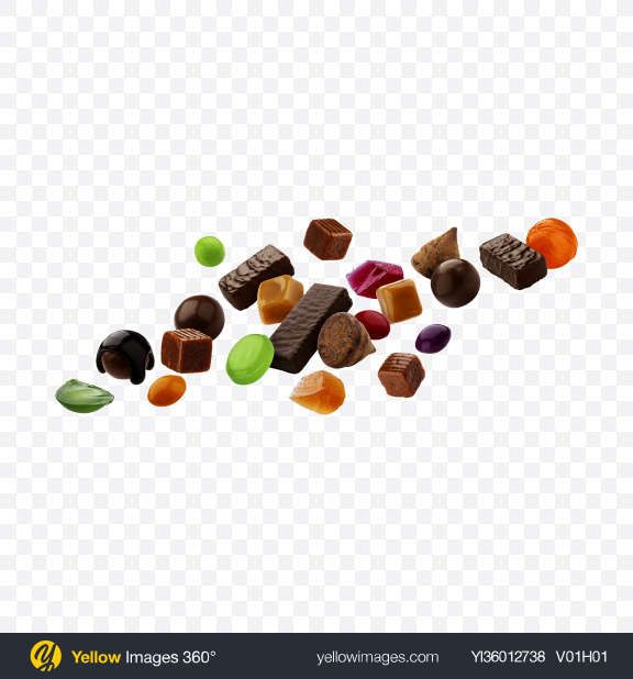 Download Candies Set Transparent PNG on YELLOW Images