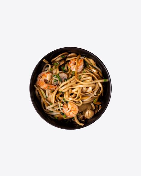 Bowl with Shrimp Noodles