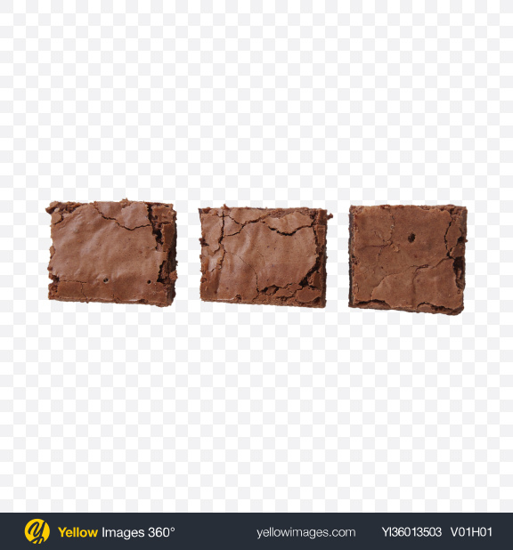 Download Brownie Pieces Transparent PNG on YELLOW Images