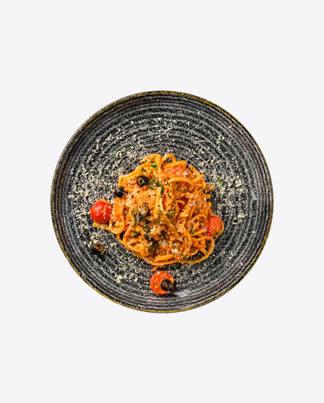 Pasta w/ Tomatoes & Parmesan