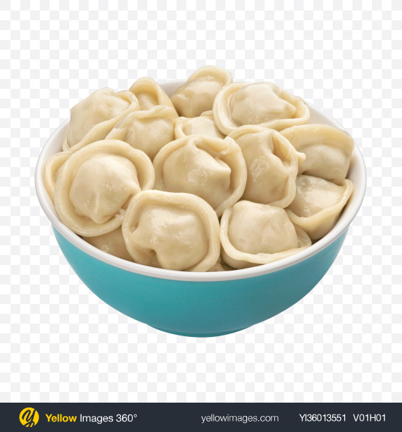 Download Dumplings in Blue Bowl Transparent PNG on YELLOW Images