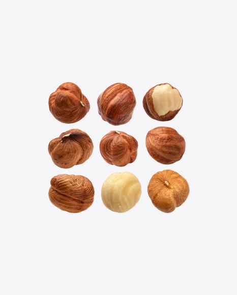 Hazelnuts Set