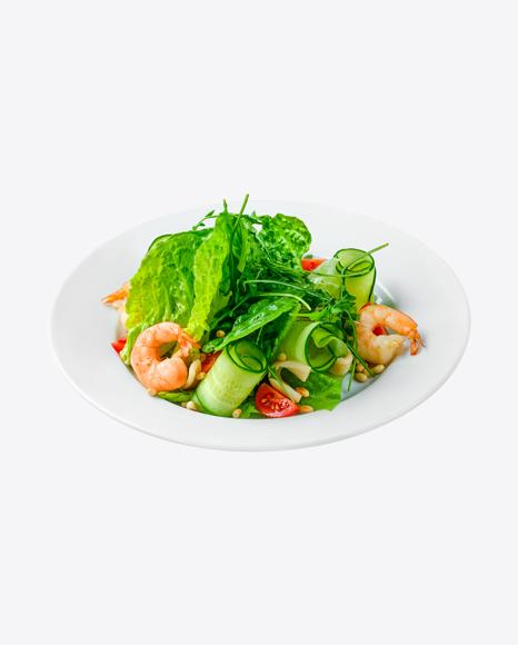 Green Salad w/ Shrimps