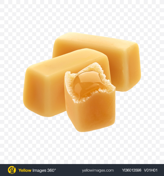Download Caramel Candy Set Transparent PNG on YELLOW Images