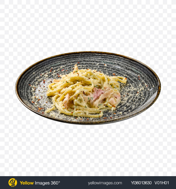 Download Carbonara Pasta Transparent PNG on YELLOW Images