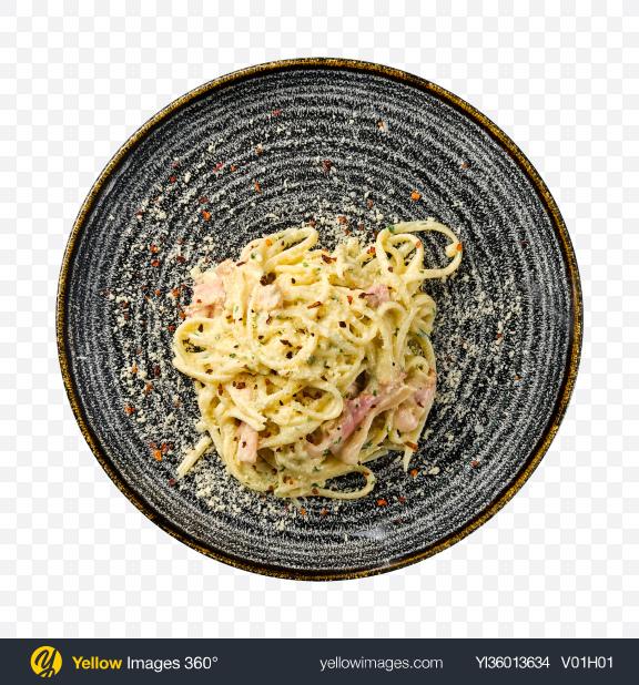 Download Carbonara Pasta Transparent PNG on YELLOW Images