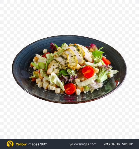 Download Caesar Salad Transparent PNG on YELLOW Images