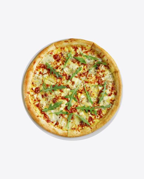 Pizza w/ Arugula