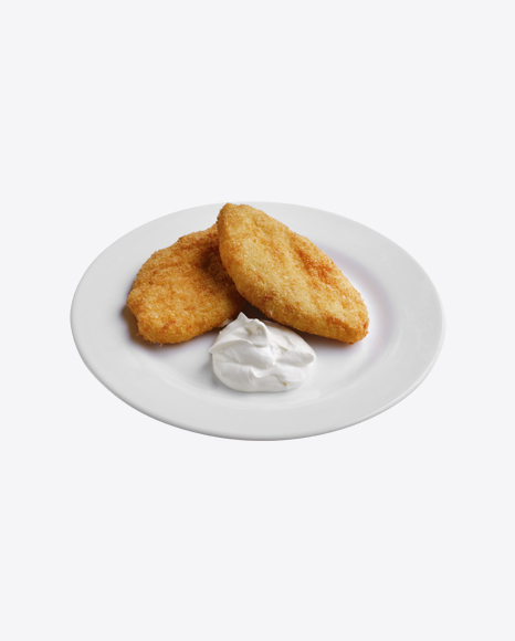 Fried Cutlets w/ Sour Cream