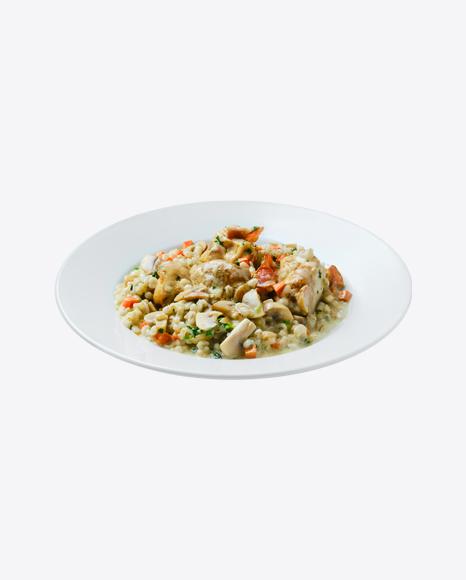 Pearl Barley w/ Chicken & Vegetables