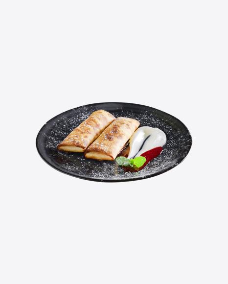 Pancakes w/ Jam & Sour Cream
