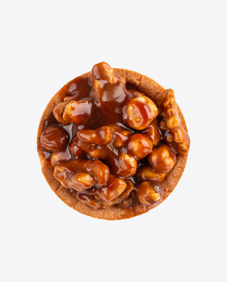 Tartlet with Nougat and Hazelnuts