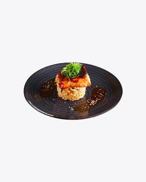 Grill Salmon w/ Rice