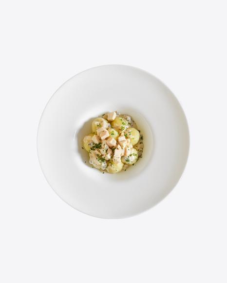 Baby Potatoes w/ Chicken & Cream Gravy