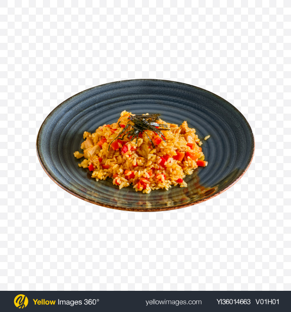Download Chicken Pilaf Transparent PNG on YELLOW Images