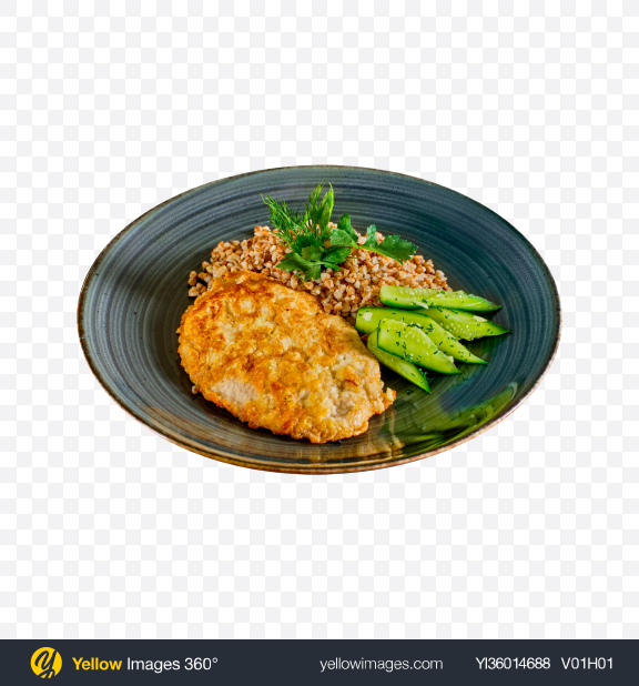 Download Buckwheat w/ Roasted Meat Transparent PNG on YELLOW Images