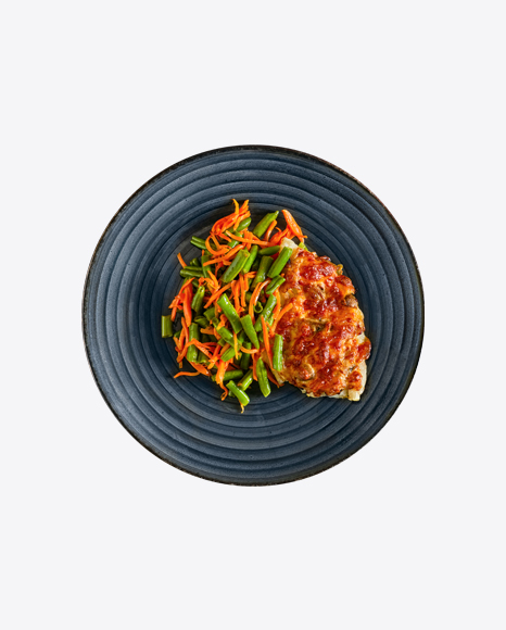 Baked Meat w/ Vegetables