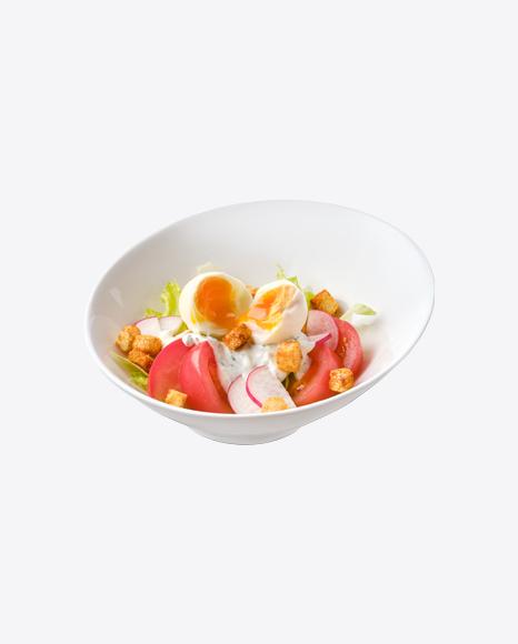 Salad w/ Chicken Egg