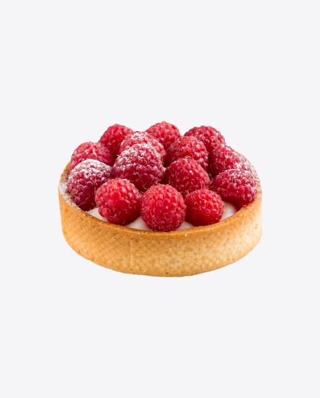 Raspberry Tart w/ Cream