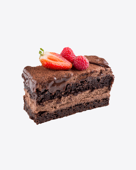Chocolate Cake w/ Berries
