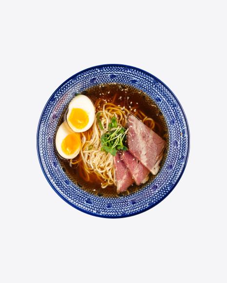 Shoyu Ramen Soup w/ Pickled Egg