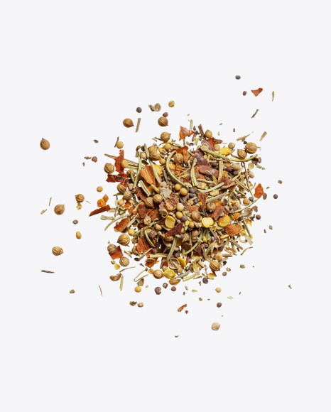 Spices Mix Pile