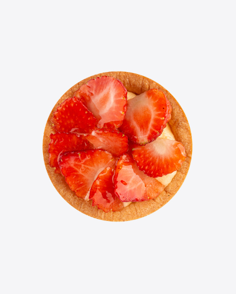 Tartlet with Strawberries and Cream