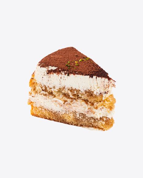 Tiramisu Cake Slice