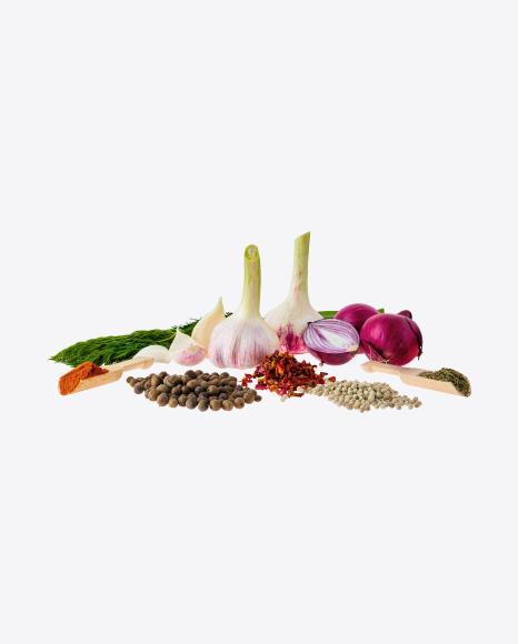 Spices & Vegetables Set
