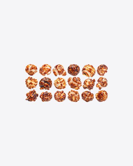 Caramel Popcorn Set