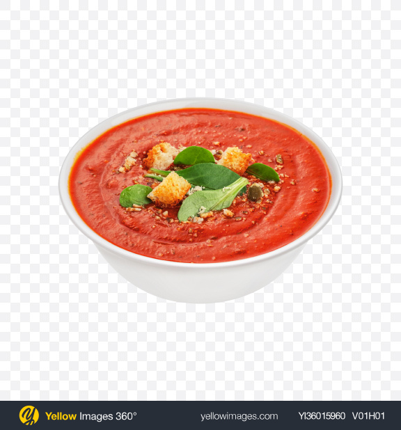Download Gazpacho Soup Transparent PNG on YELLOW Images