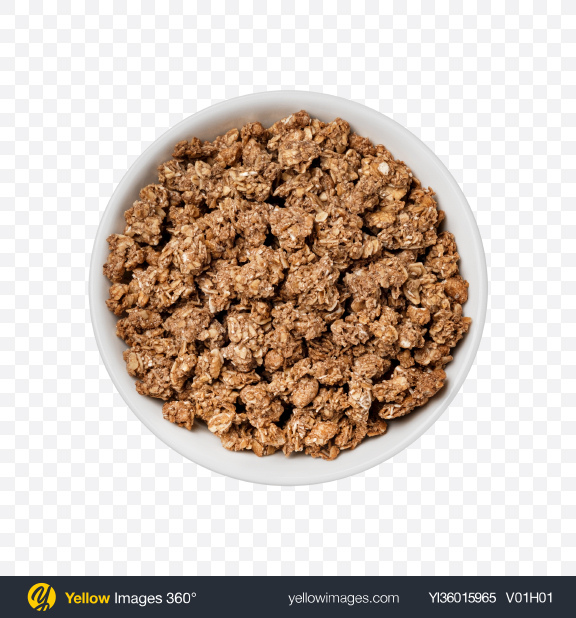 Download Cereal in Bowl Transparent PNG on YELLOW Images