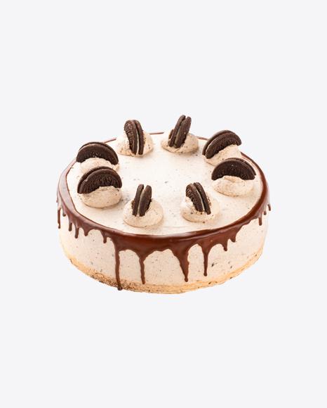 Chocolate Cake w/ Cookies