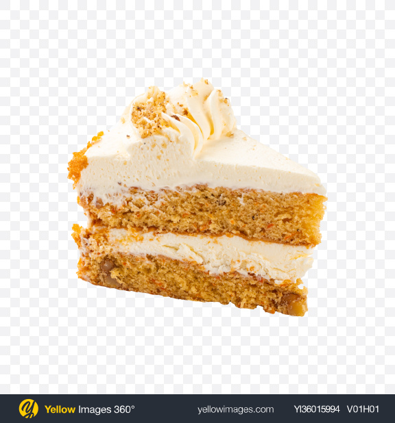 Download Carrot Cake Slice Transparent PNG on YELLOW Images