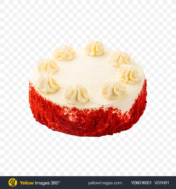Download Red Velvet Cake Transparent PNG on YELLOW Images
