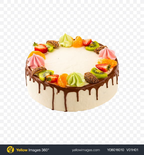 Download Spinach Cake w/ Curd Cream Transparent PNG on YELLOW Images