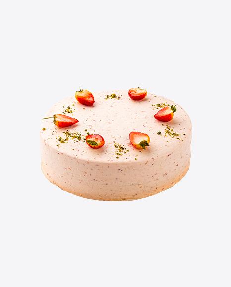 Strawberry Cake w/ Cheese Cream