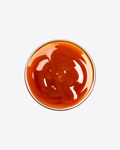 Caramel Sauce in Bowl