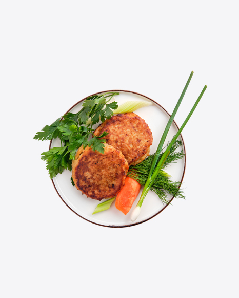 Roasted Cutlets w/ Greens