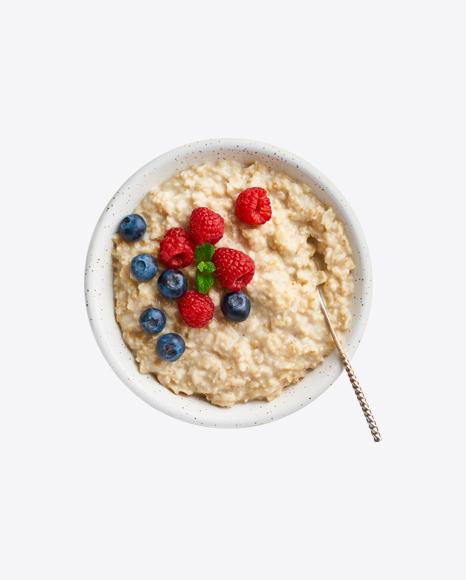 Porridge w/ Berries