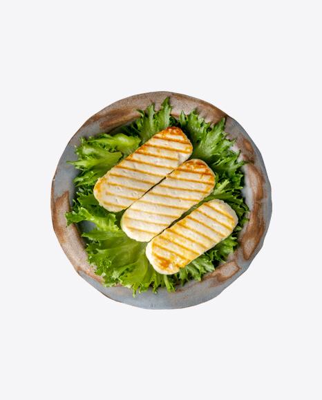 Fried Cheese w/ Salad