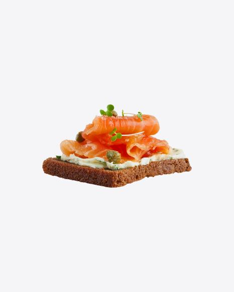Salmon Toast w/ Cream Cheese