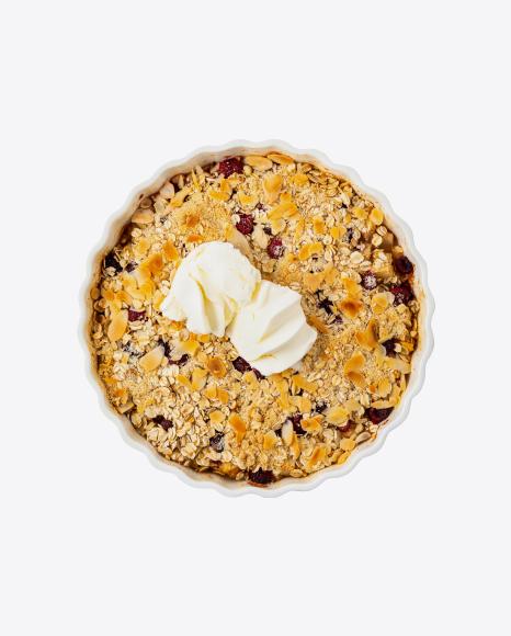 Tart w/ Ice Cream