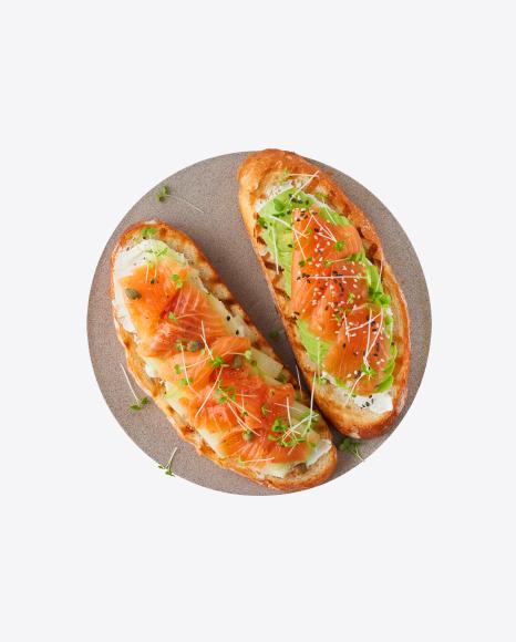 Salmon Toasts